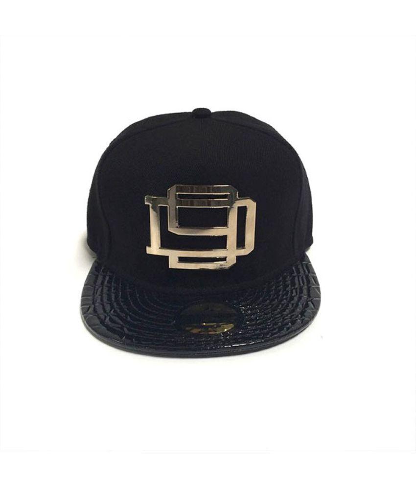 TakeInCart DNINE Reserve 3D Snapback & Hiphop Caps (Black)