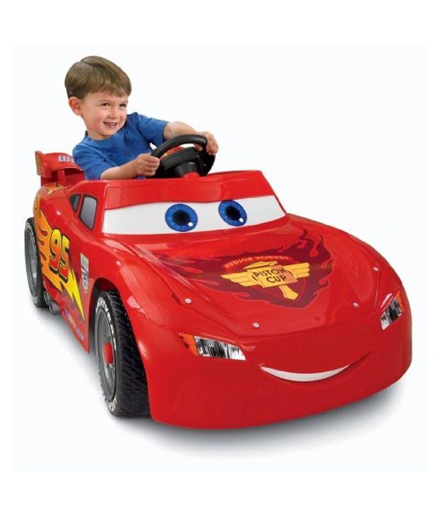 Disney Pixar Cars  Power Wheels Lightning Mcqueen