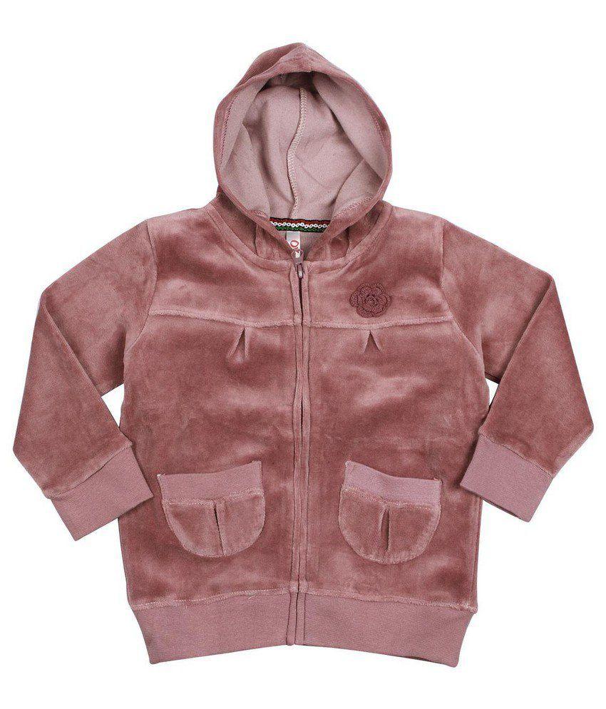 Oye Hooded Jacket - Purple