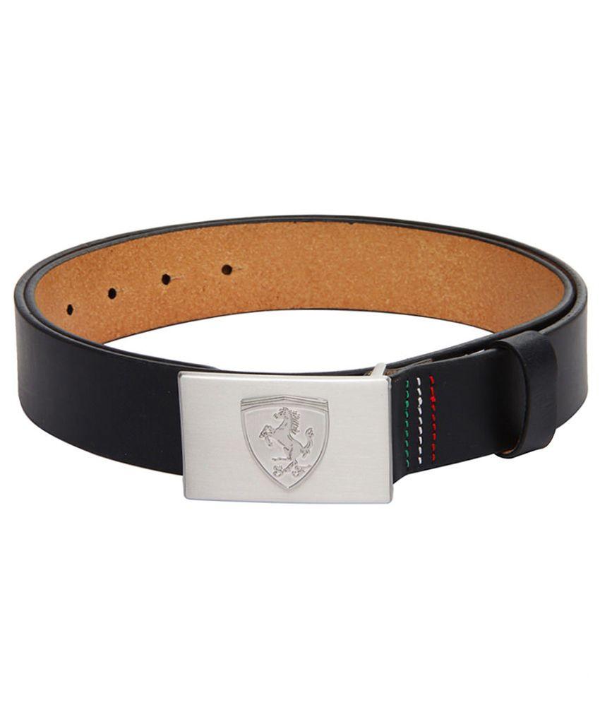 Puma Unisex Black Belt-5258801-M