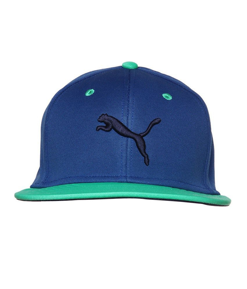 Puma Unisex Blue Cap-828267071-ADULTS