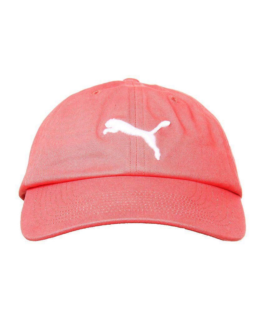 Puma Unisex Pink Cap-83340014-ADULTS