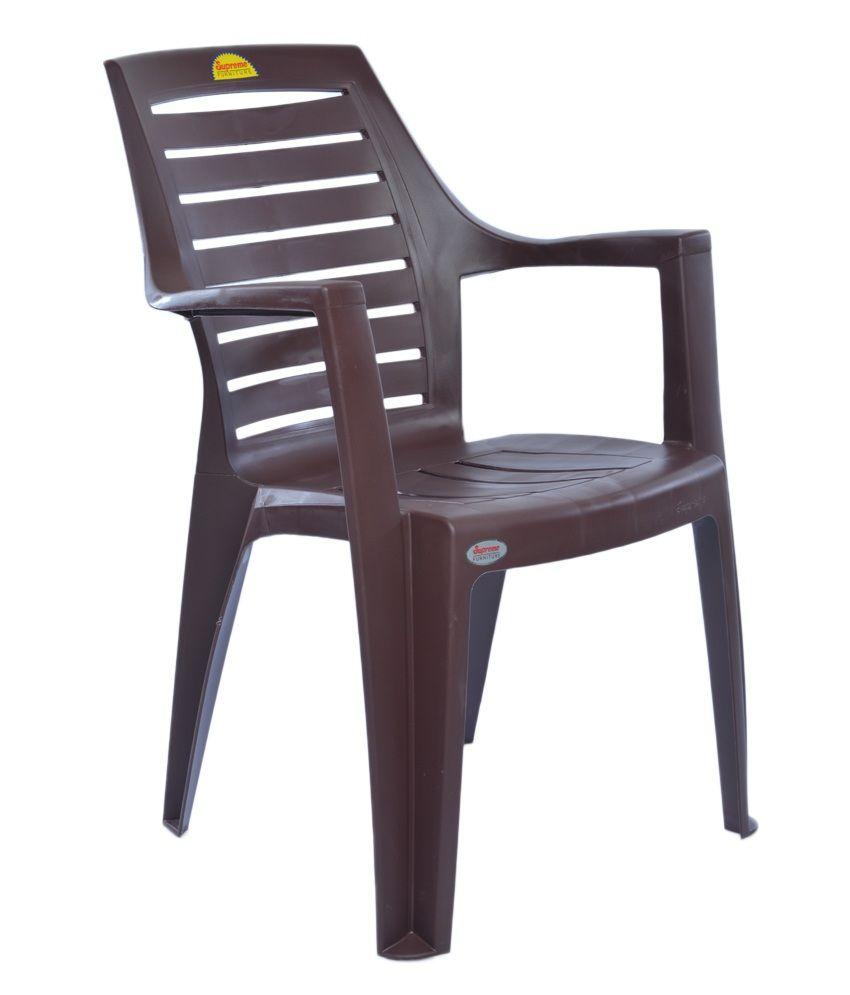 supreme orlando chair set of 4 globus brown buy supreme rh snapdeal com