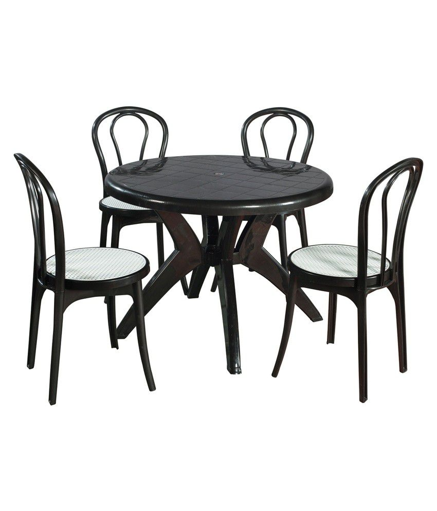supreme set of 4pearl cane without arm chair 1marina round dining rh snapdeal com
