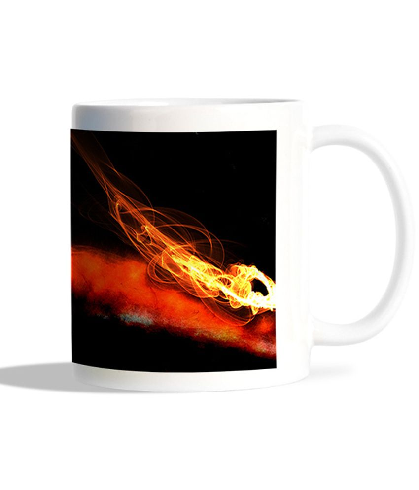 Bgfanstore Devraj Baruah Fire Abstarct Design Mug