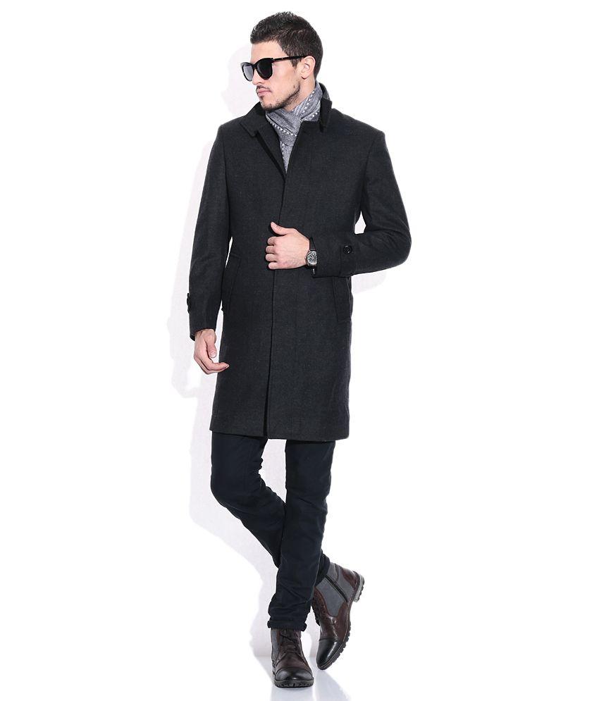 e8a3441b70b Monte Carlo Black Semi-Formal Full Sleeve Blazer - Buy Monte Carlo ...