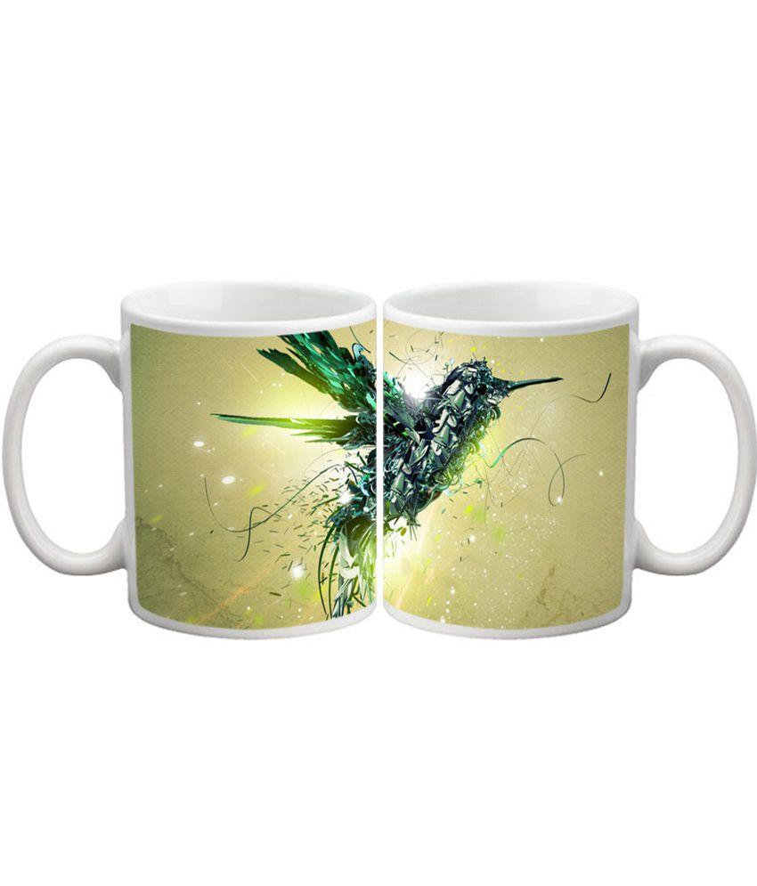 Shopkeeda White Ceramic Mug