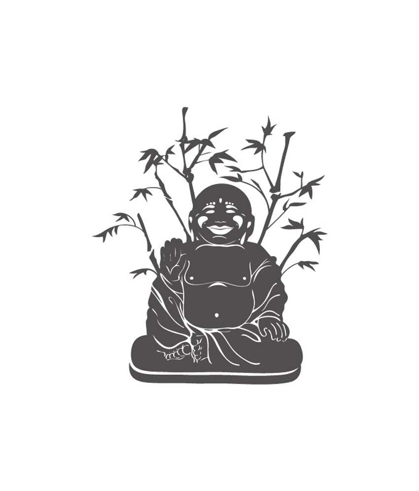 Ultimate Decals Inc Ultimate Decals Inc Laughing Buddha Sticker