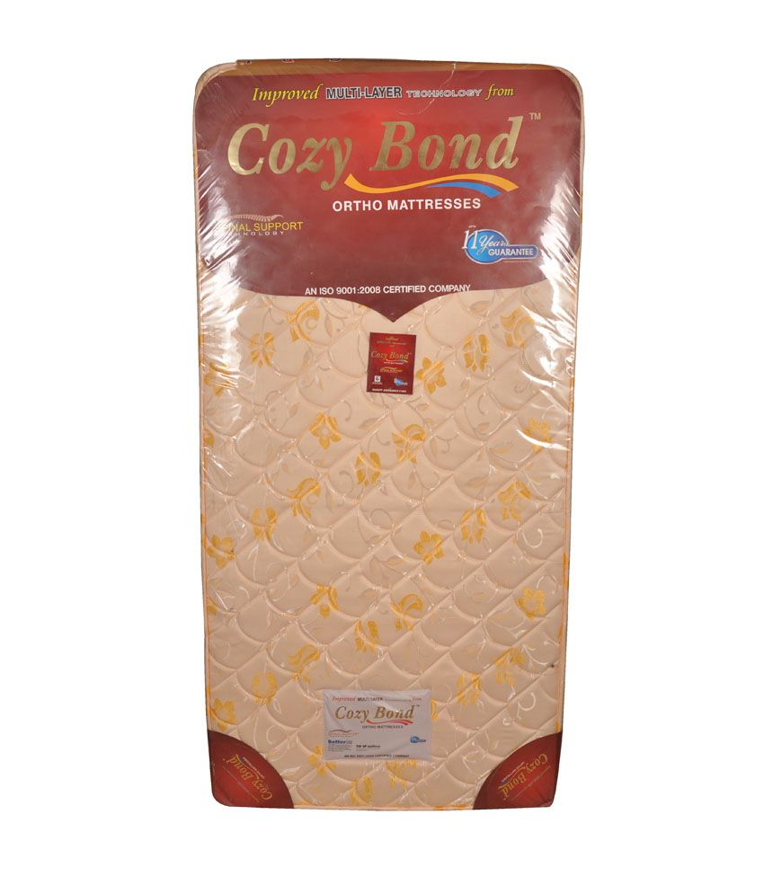 cozy bond cotton foam multi layer single mattresses buy cozy bond