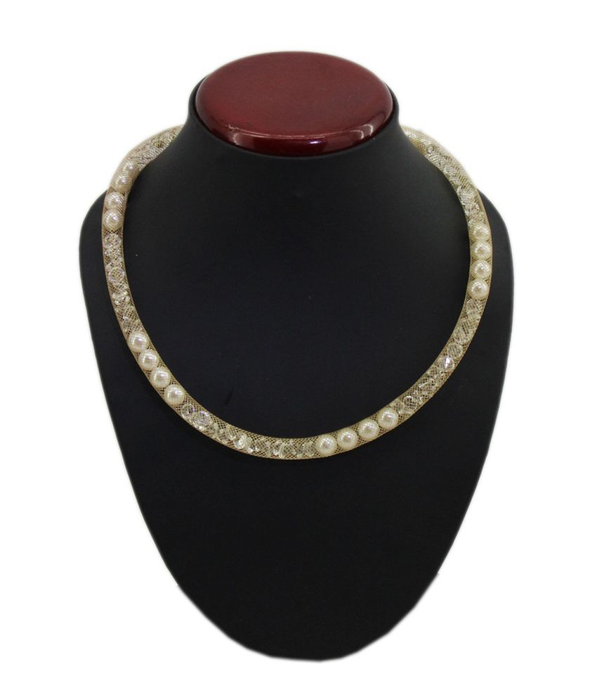 Jstarmart Brown Contemporary Alloy Necklace