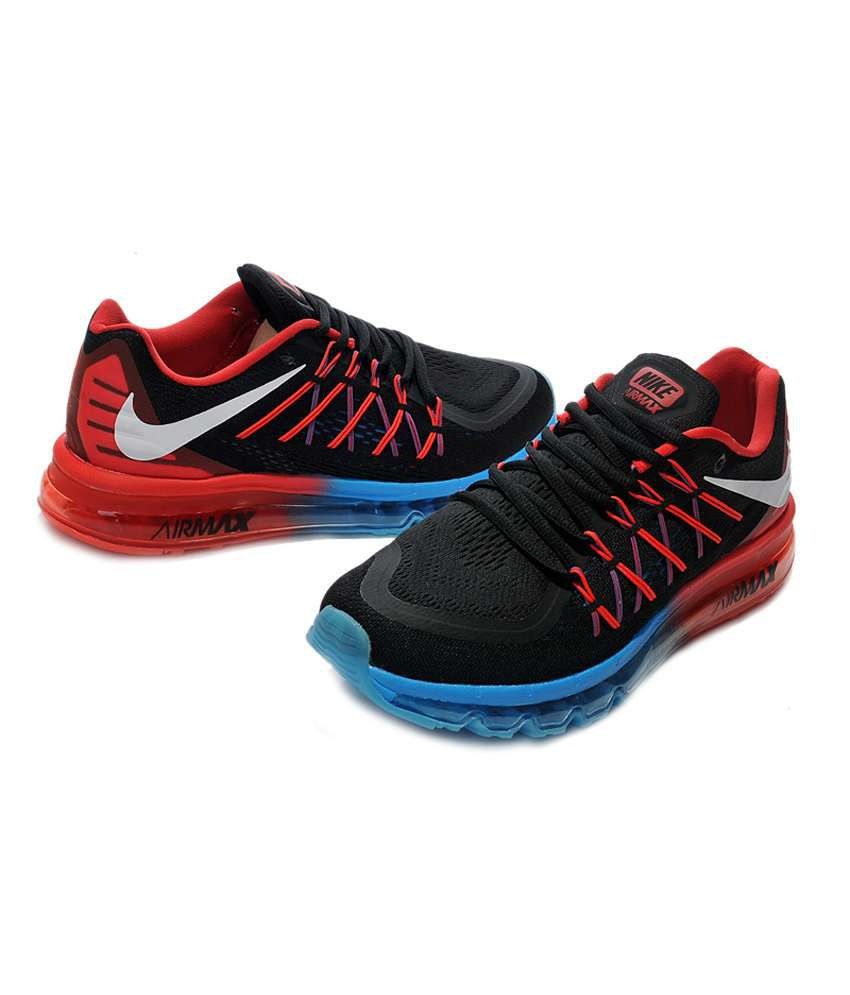 Nike Air Max 2015 Black Running Shoes - Buy Nike Air Max ...