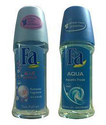 FA Blue Romance & Aqua Roll On 50ml for women