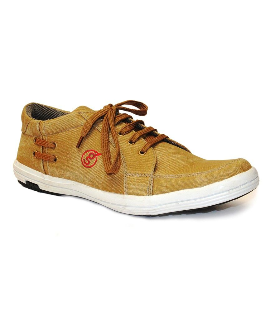 fb5076a368938 Guava Men's Tan Synthetic Casual Shoes - Buy Guava Men's Tan Synthetic Casual  Shoes Online at Best Prices in India on Snapdeal