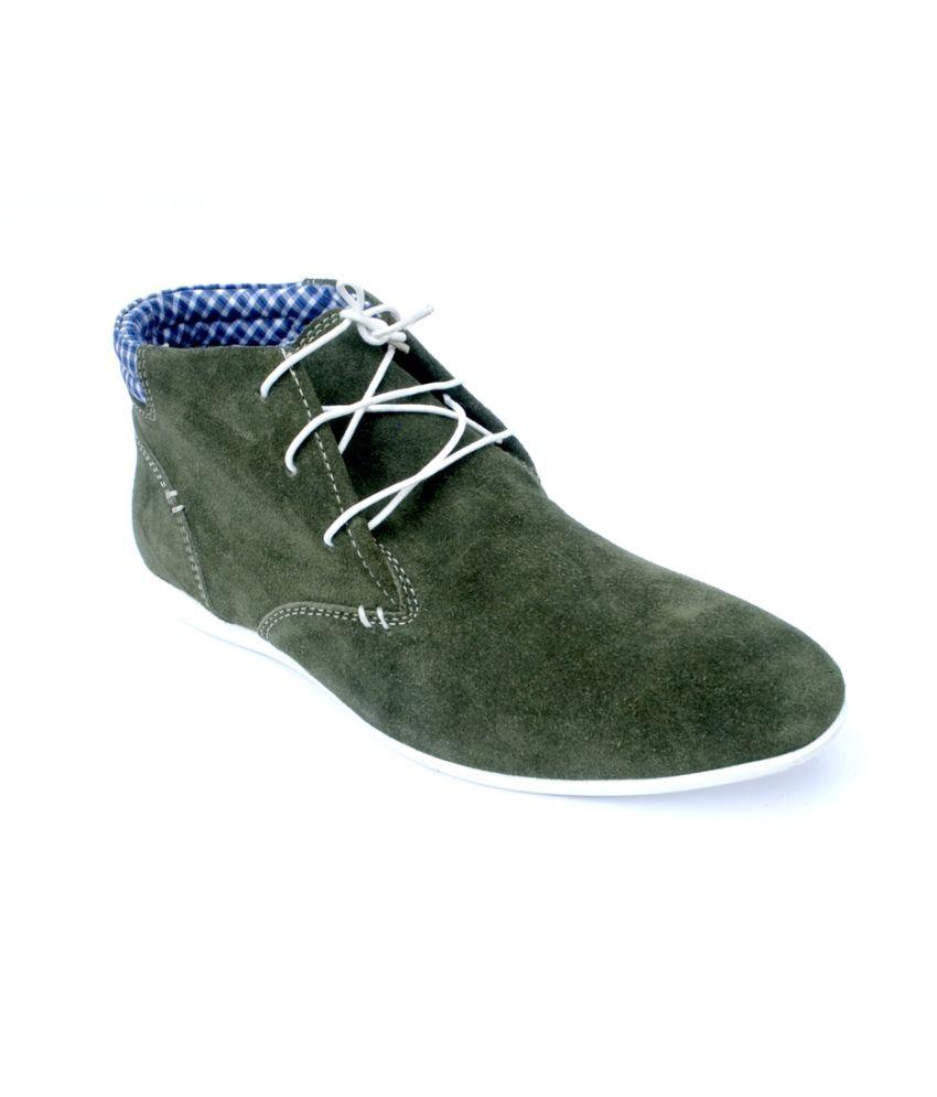 Cougar Casual Cgr 201 Green Boot