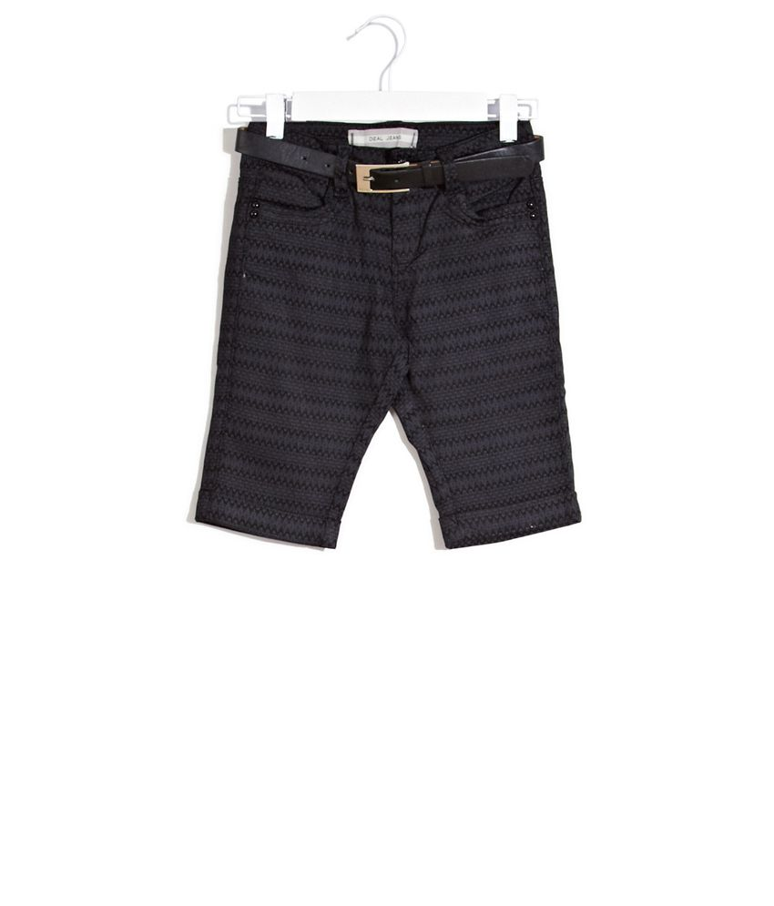 Deal Jeans Kids Black Up In The Air Pedal Pushers