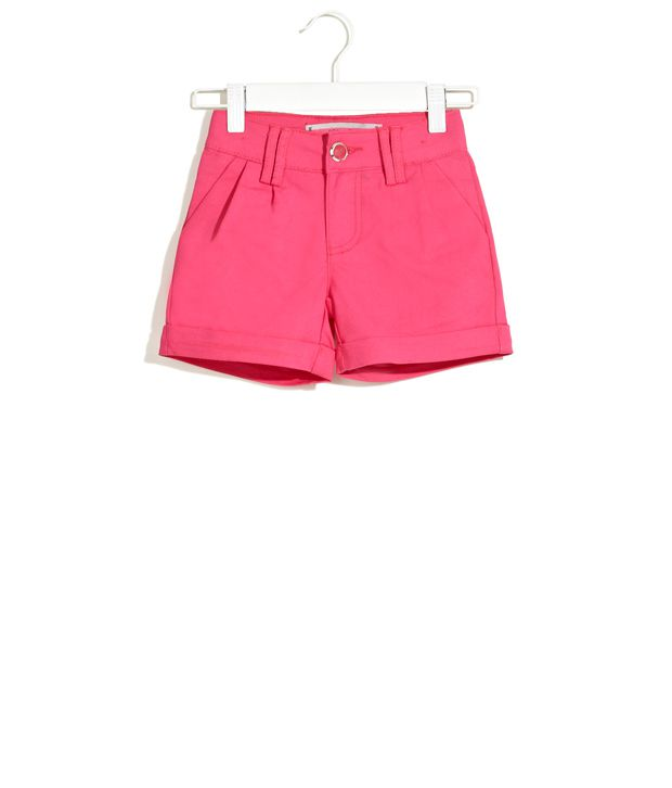 Deal Jeans Kids Pink Pretty In Solid Shorts