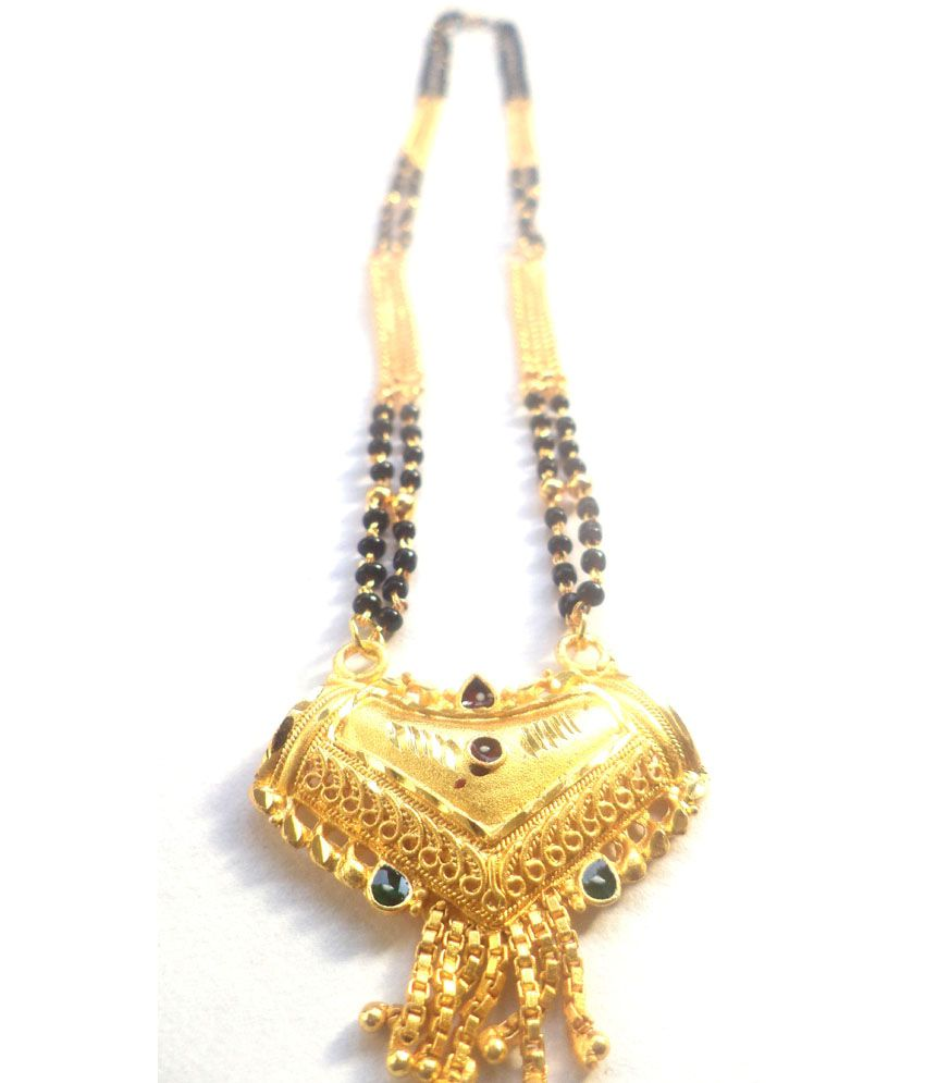 J S Imitation Traditional And Stylish Golden Mangalsutra