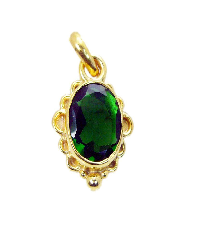 India Star Emerald: Riyo Ravishing Star Emerald-cz Pendant: Buy Riyo Ravishing