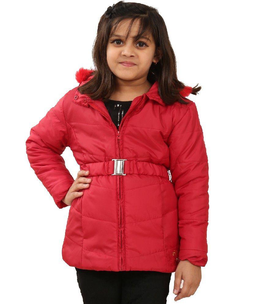 Sportking Red Color Jacket For Girl