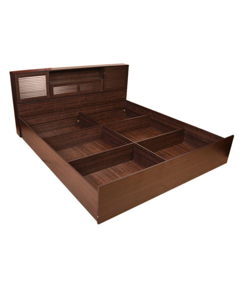 Hometown Bali Queen Bed With Box Storage Buy Hometown