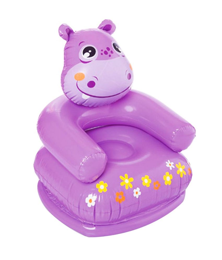 Intex Inflatable Intex Hippo Inflatable Chair For Kids
