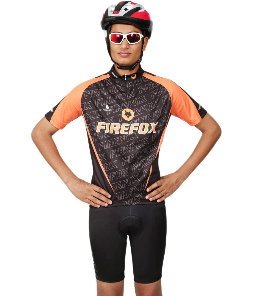 Triumph-firefox Cycle Jersey - Men/women
