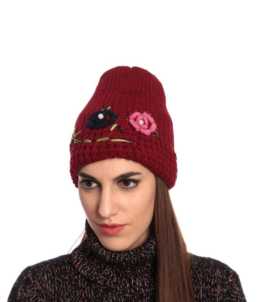 Woolen stylish caps online catalog photo