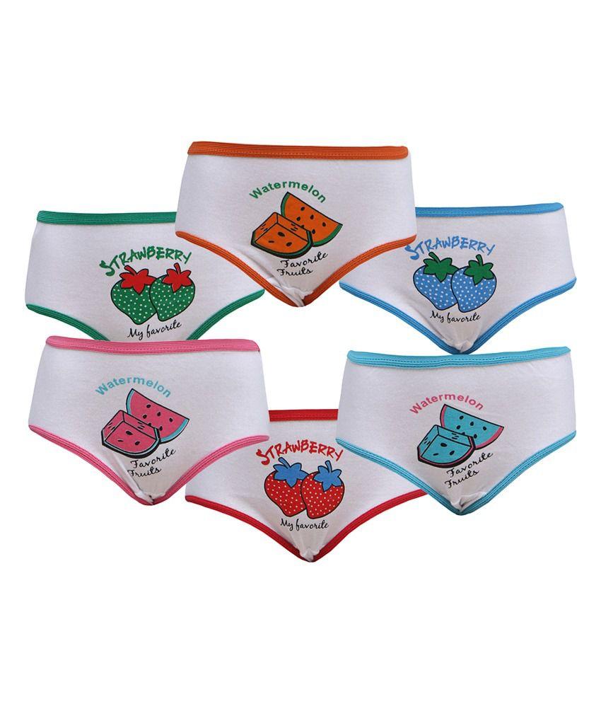 8bfe50196bd1 Red Rose Girls Panties - Set Of 6 Pcs. - Buy Red Rose Girls Panties - Set  Of 6 Pcs. Online at Low Price - Snapdeal