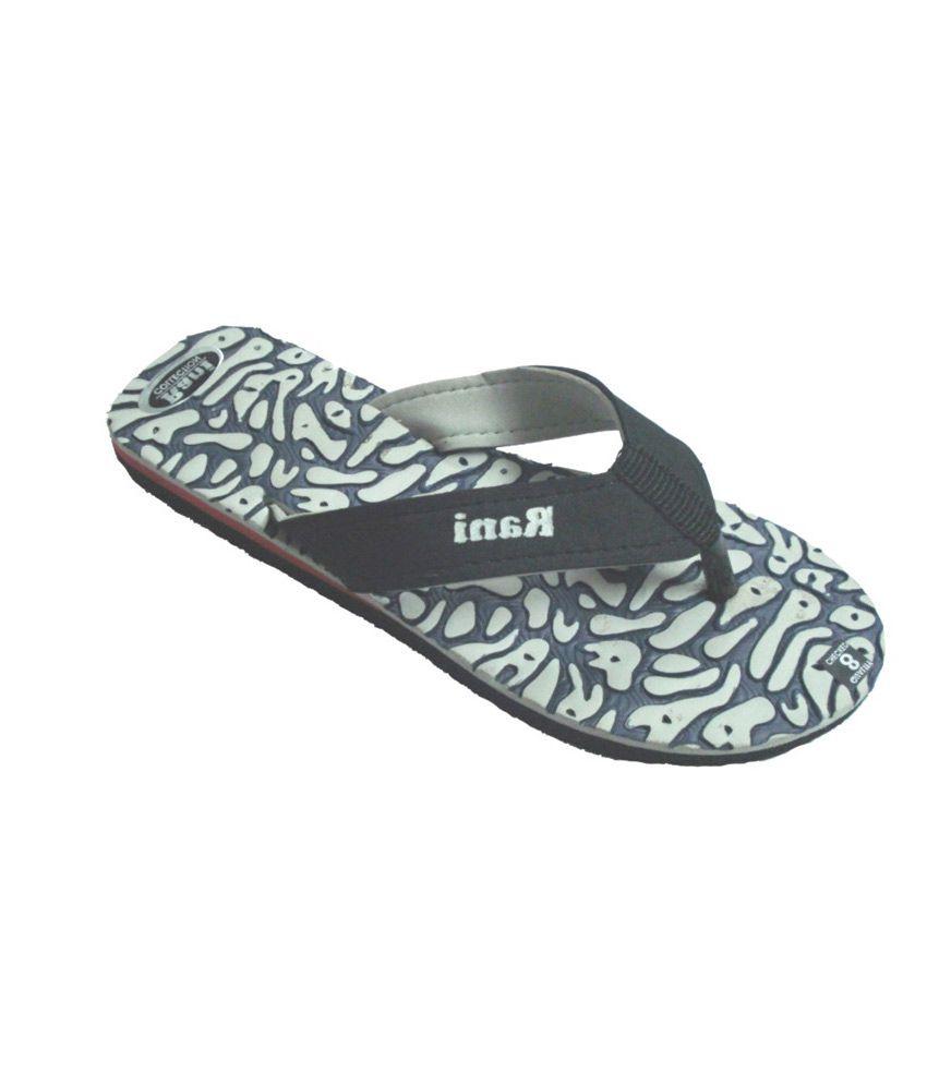 Tropic Grey Flat Platform Slipper For Women