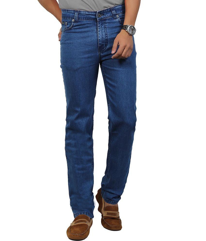 Dfu Jeans Sky Blue Regular Jeans