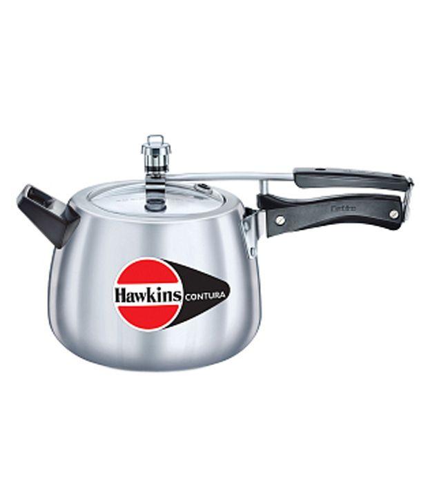 Hawkins Contura Pressure Cooker - 6.5 Liter