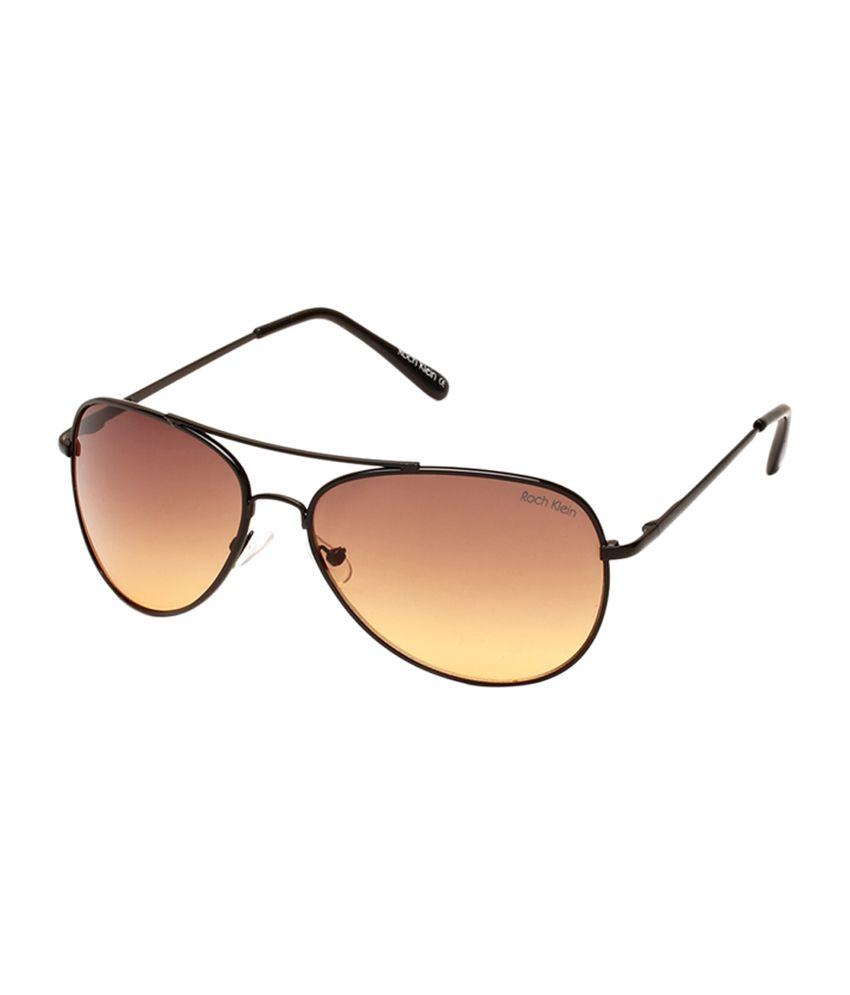 Roch Klein 1020-c-2 Medium Unisex Aviator Sunglasses