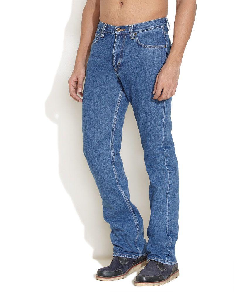 de2cfbd5 Lee Medium Blue Classics Chicago Straight Fit Jeans - Buy Lee Medium Blue  Classics Chicago Straight Fit Jeans Online at Best Prices in India on  Snapdeal
