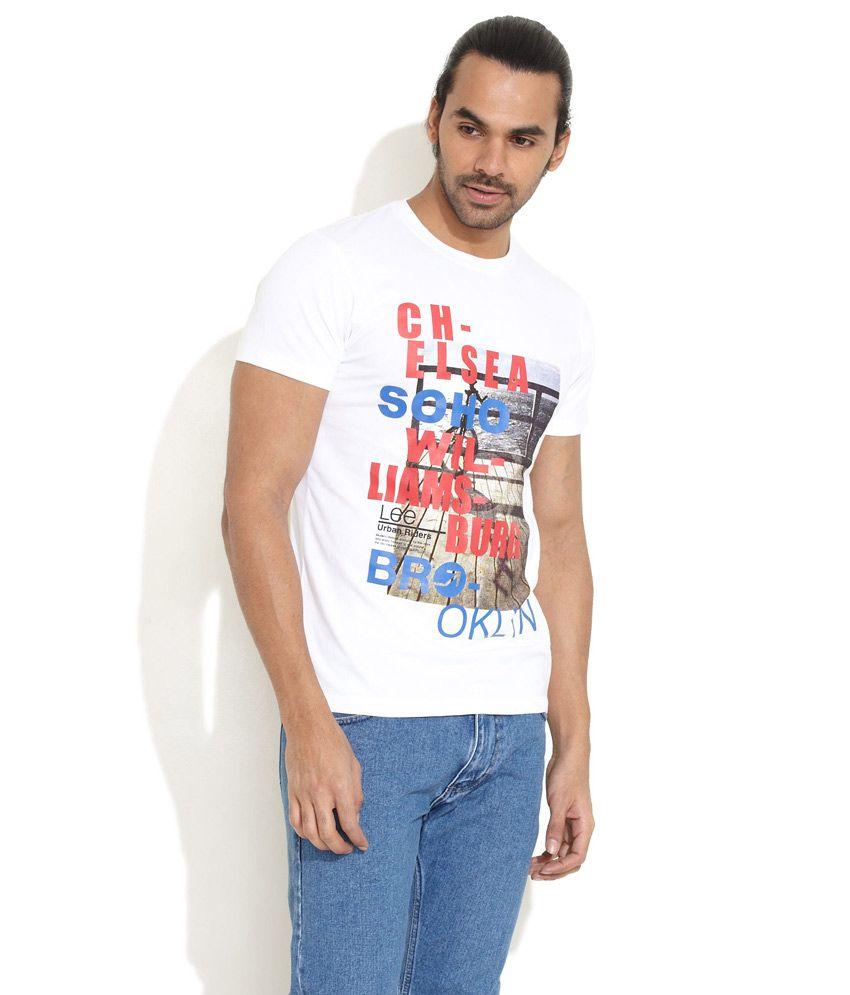 Lee White Chelsea Soho T-Shirt