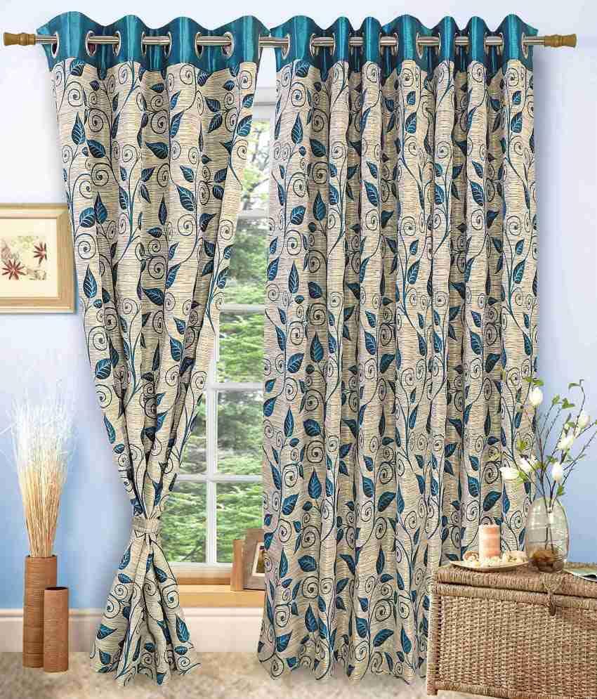 vorhang single door eyelet curtain contemporary beige blue. Black Bedroom Furniture Sets. Home Design Ideas