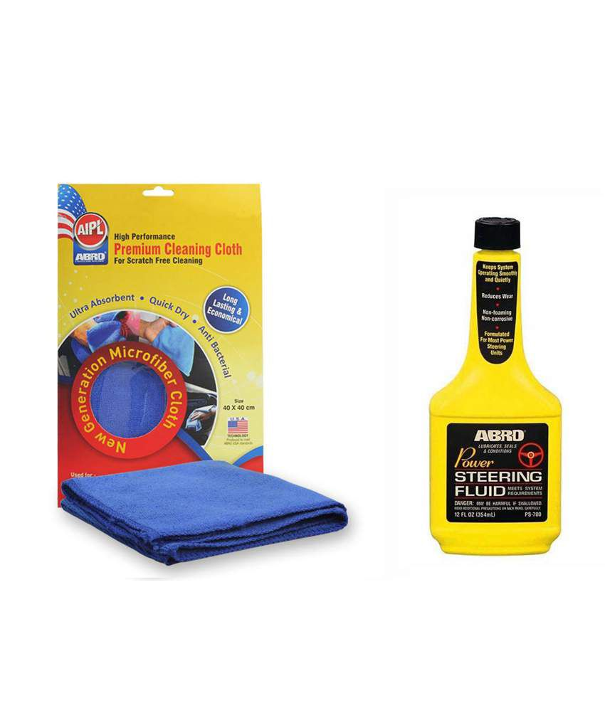 abro power steering fluid ps 700 354 ml microfiber cloth buy abro rh snapdeal com