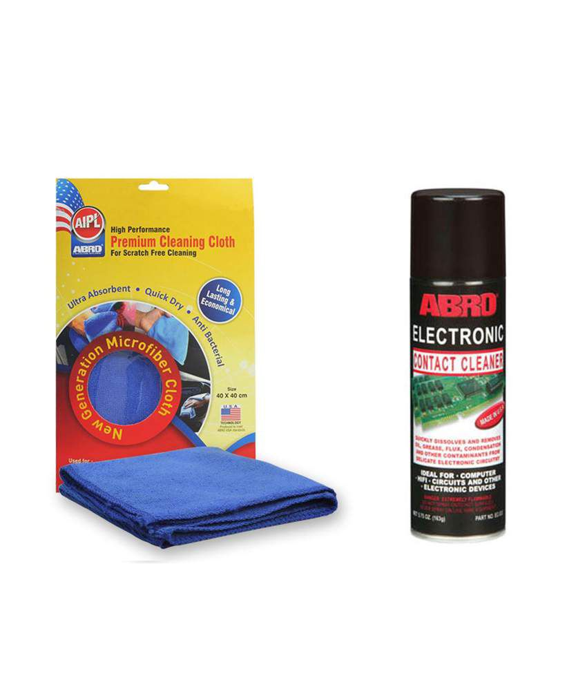 Abro Electric Contact Cleaner Ec-533 (163 Gm)+microfiber