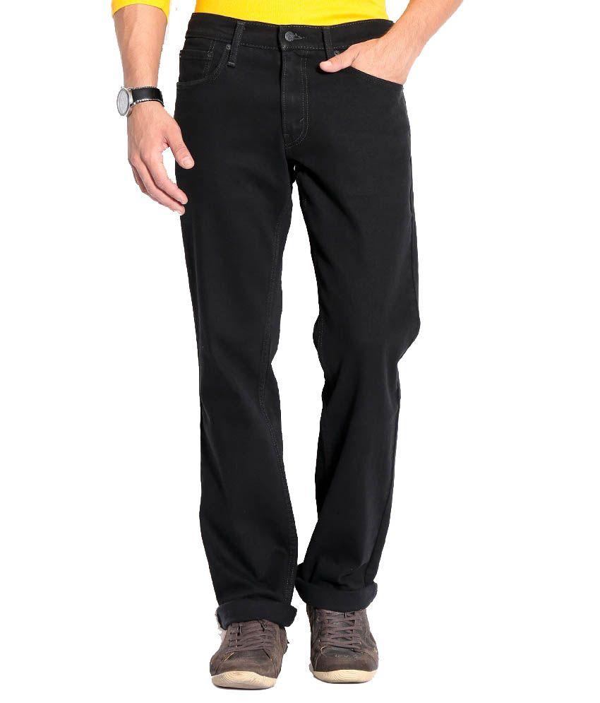 Levis Black Regular Jeans