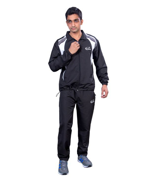Prokyde Black And White Tracksuit