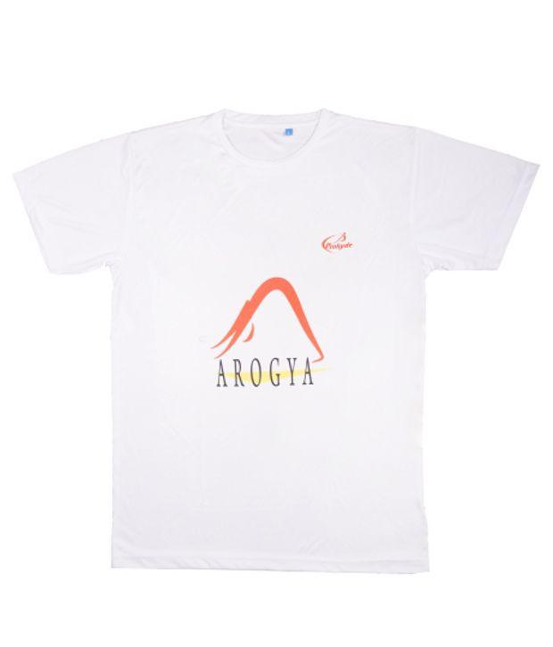 Prokyde White Yoga T-shirt