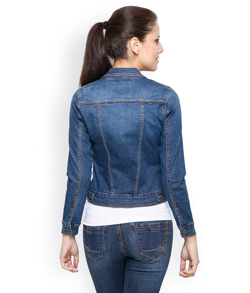 Buy Tarama Blue Classic Denim Jacket Online at Best Prices in ...
