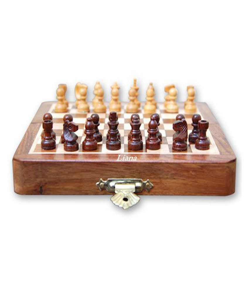 Liana Magnetic Chess Rectangle 5 Inch