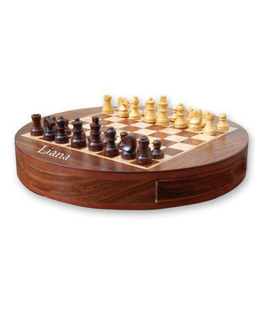 Liana Magnetic Chess Round 6 Inch