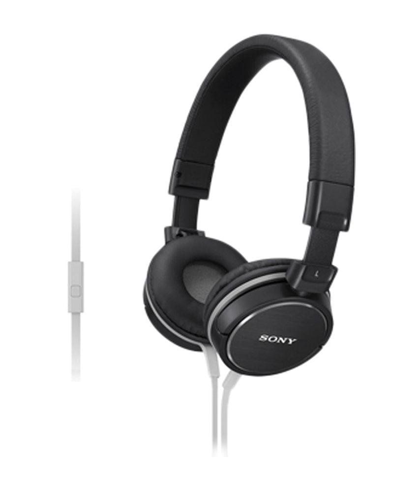 Sony On Ear Wired With Mic Headphones/Earphones