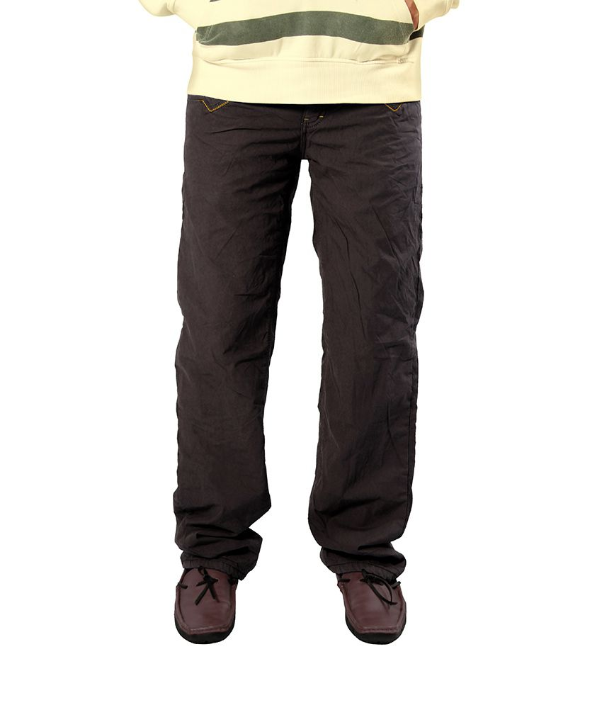 Uber Urben Brown Bonded Trouser