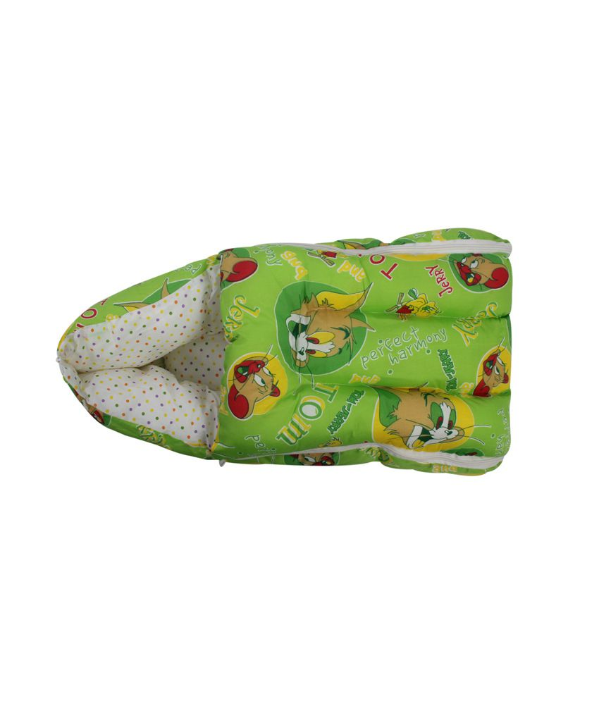 Glitz Baby Green Poly Cotton Carry Bed