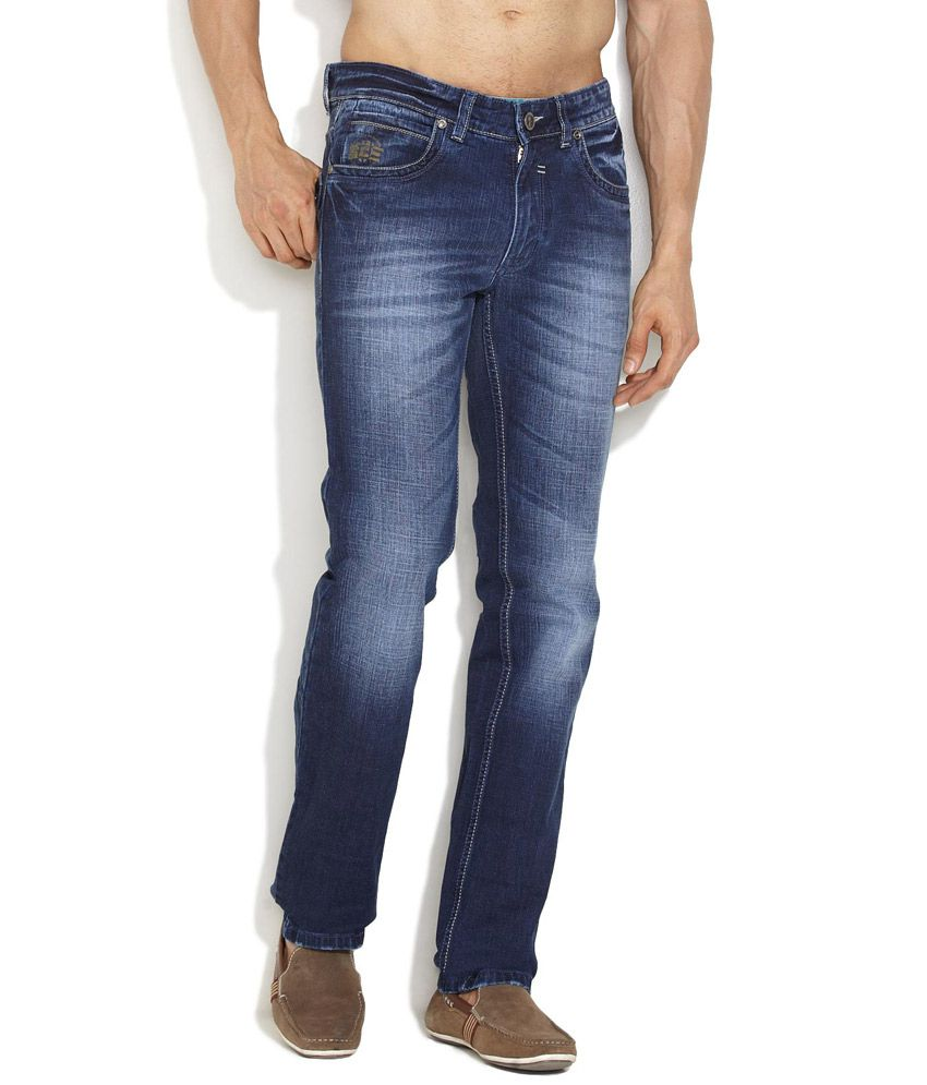 Canary London Medium Blue Relaxed & Cool Narrow Fit Jeans