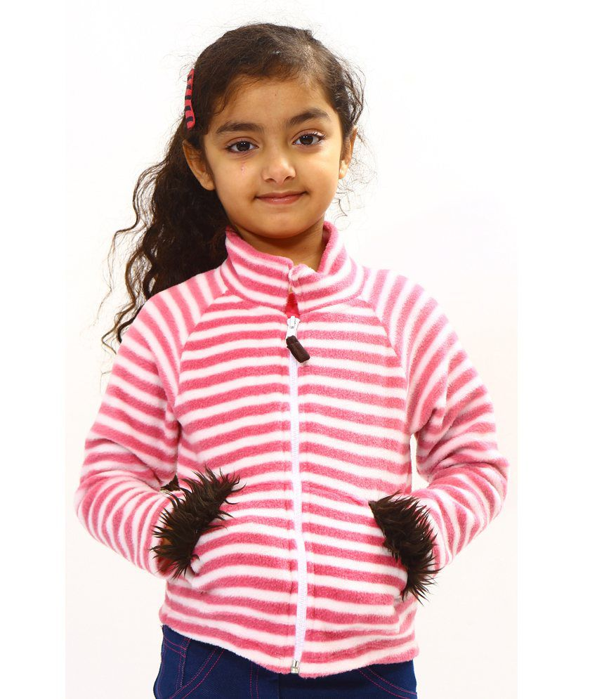 Bio Kid Multi Color Cotton Full Sleeve Fleece Jackets