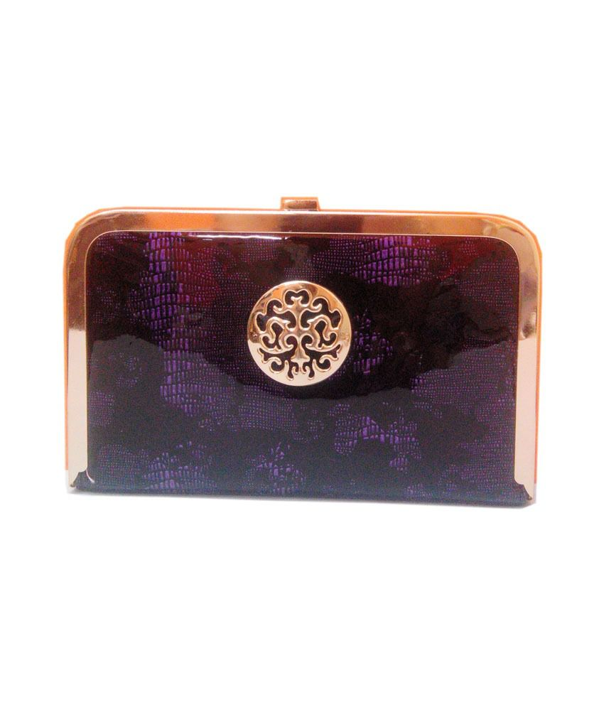 Match And Catch Classy And Stunning Purple Clutch