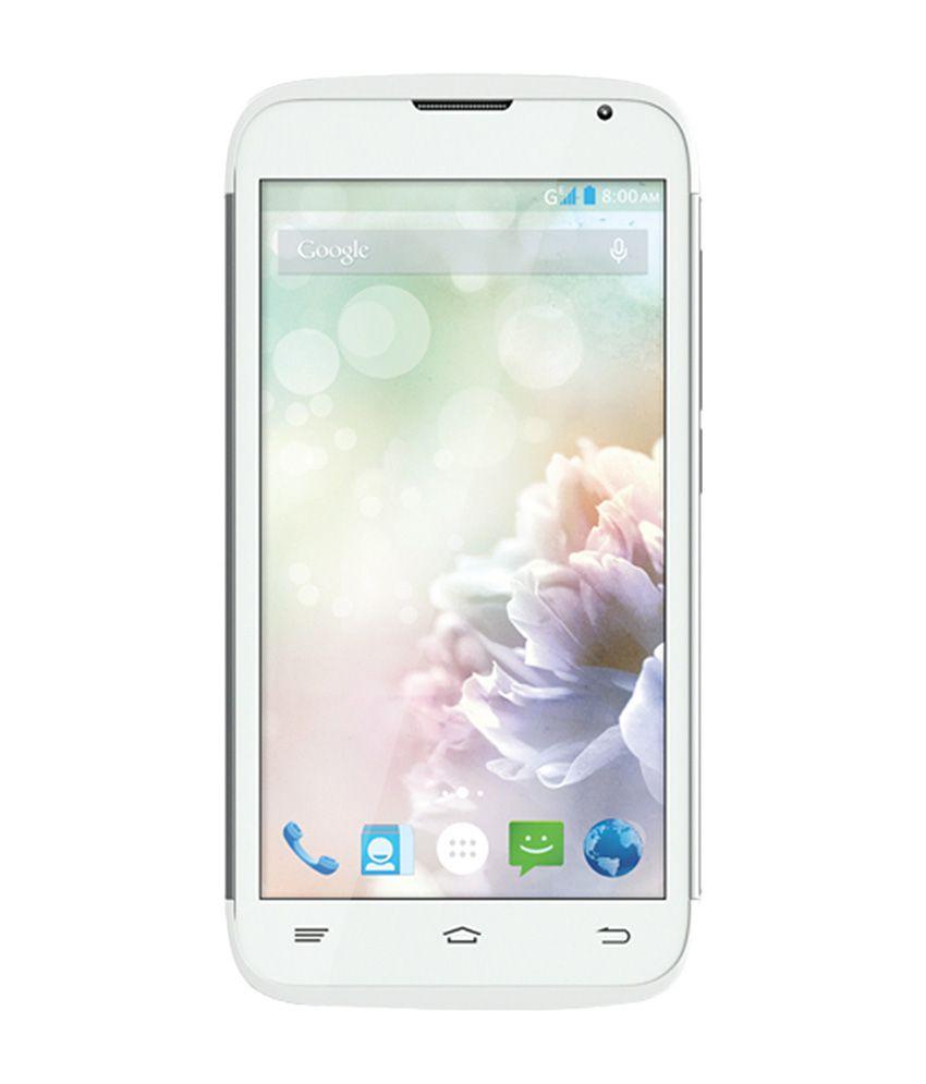 Obi S453 Fox Mobile Phone - White
